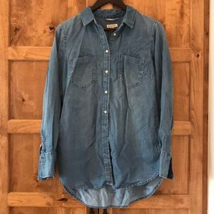 Merona chambray shirt, Medium